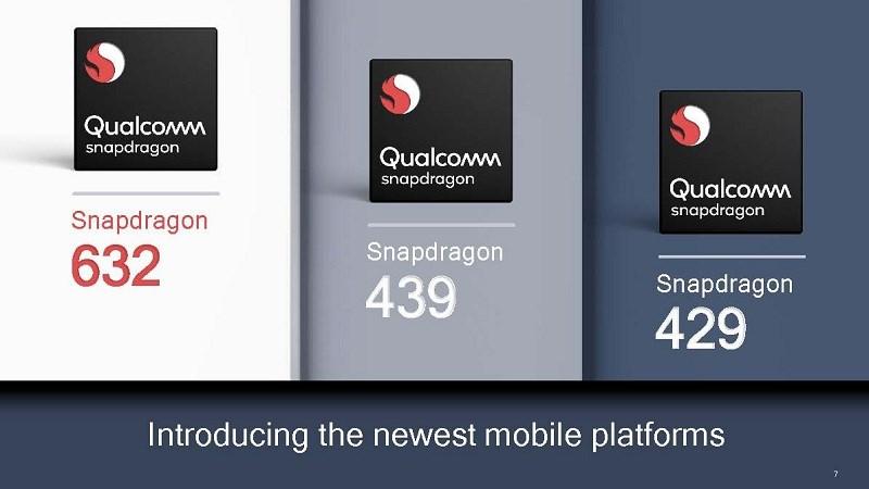 Qualcomm chính thức trình làng Snapdragon 632, 439 và 429 hình 1