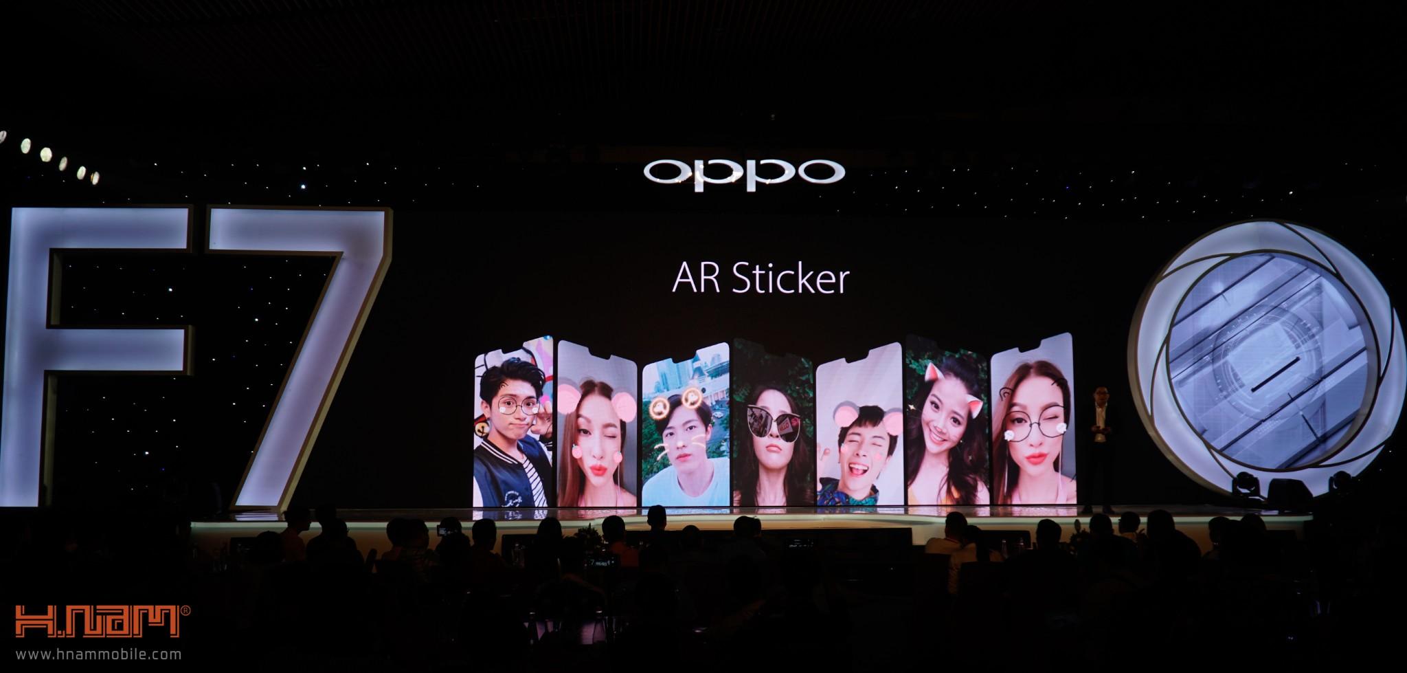 Oppo chính thức ra mắt Oppo F7 tai Việt Nam với giá bán cực kỳ hấp dẫn hình 7