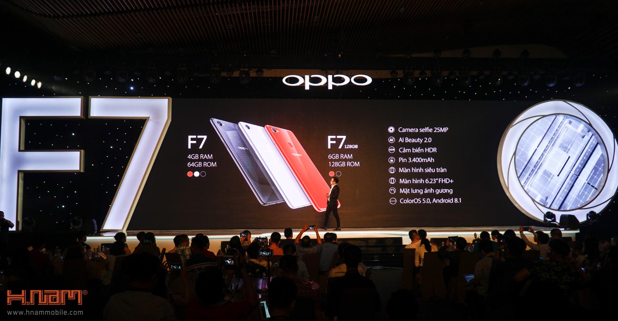 Oppo chính thức ra mắt Oppo F7 tai Việt Nam với giá bán cực kỳ hấp dẫn hình 10