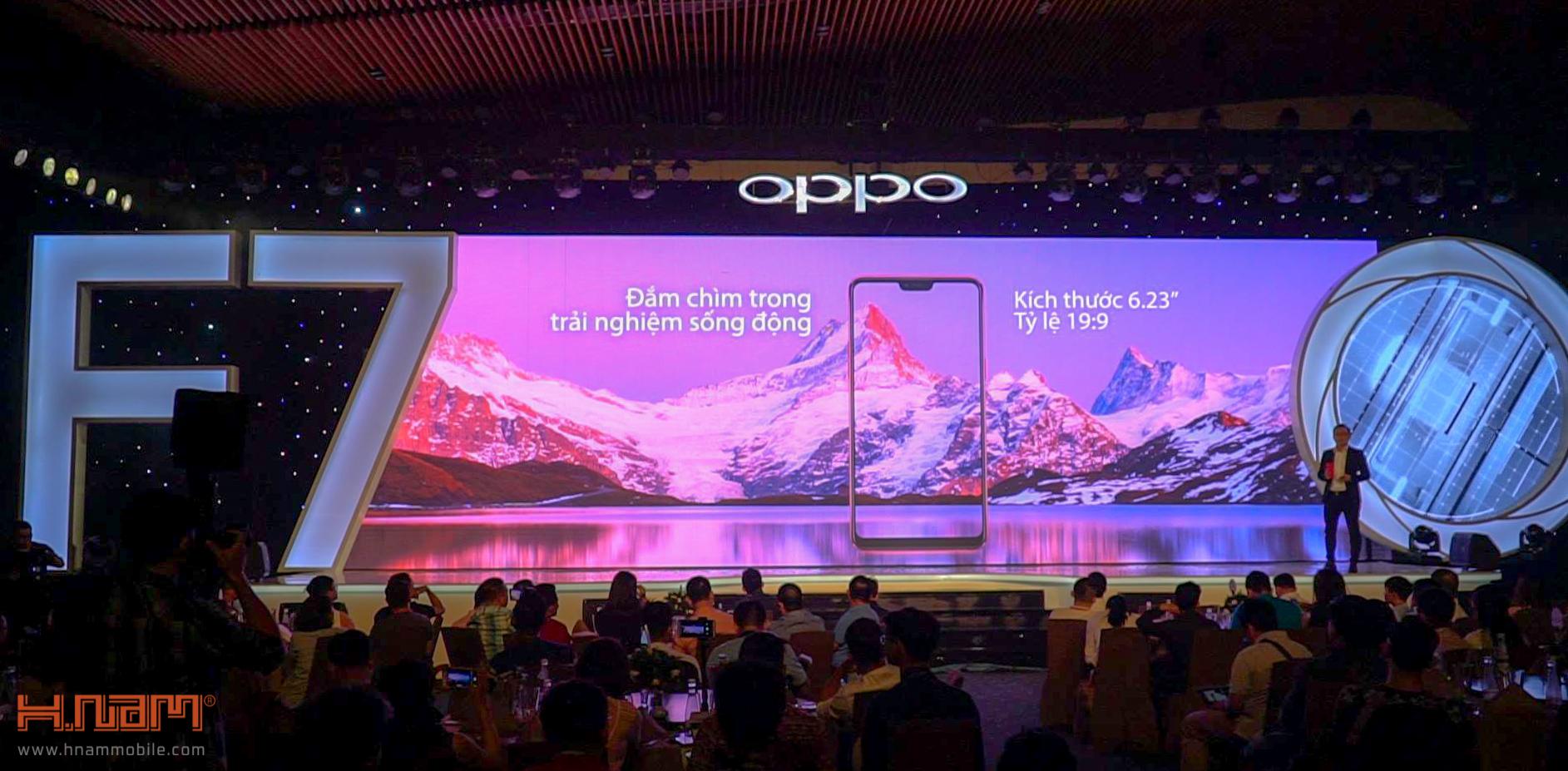Oppo chính thức ra mắt Oppo F7 tai Việt Nam với giá bán cực kỳ hấp dẫn hình 4