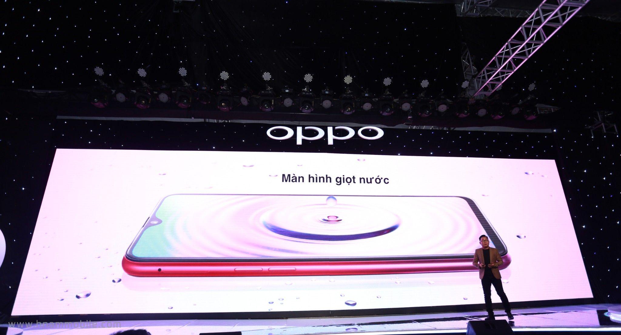 OPPO F9 ra mắt: Màn hình giọt nước, sạc nhanh VOOC, camera kép, giá 7.690.000 VNĐ hình 2