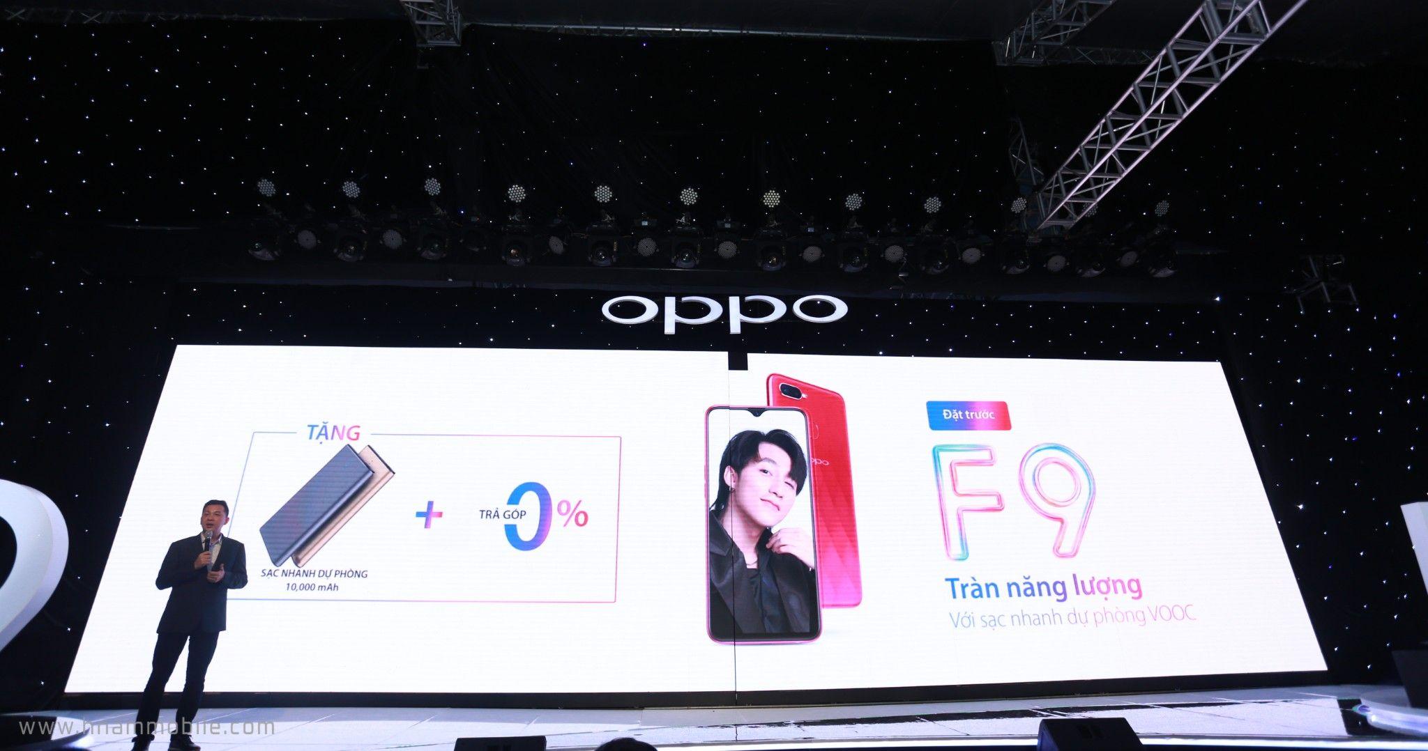 OPPO F9 ra mắt: Màn hình giọt nước, sạc nhanh VOOC, camera kép, giá 7.690.000 VNĐ hình 8