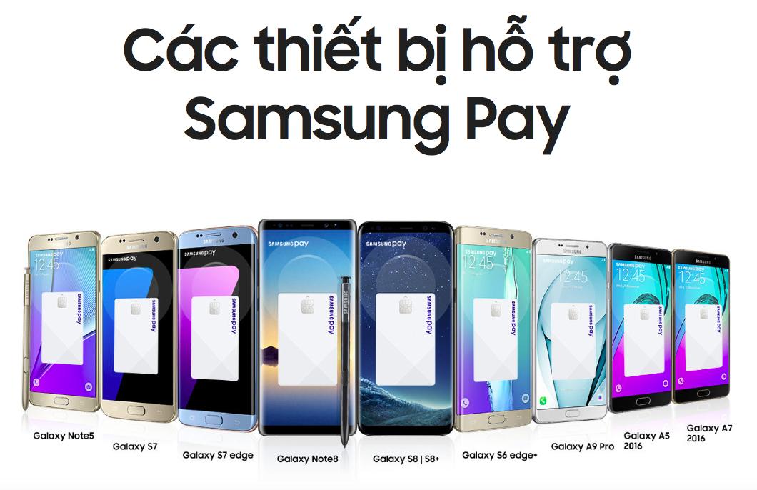Tìm hiểu tính năng Samsung Pay trên smartphone Samsung hình 3