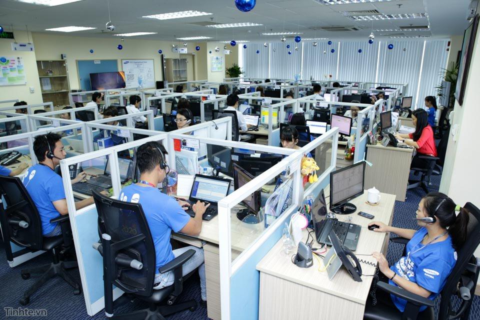 Tổng đài bảo hành điện thoại Samsung hình 1