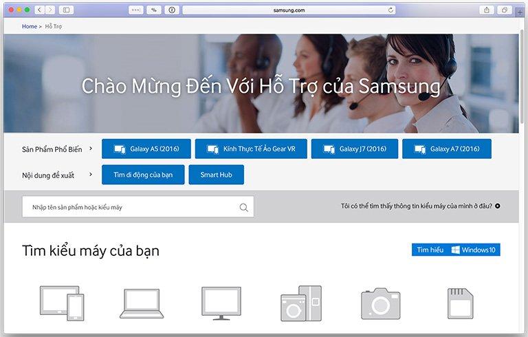 Tổng đài bảo hành điện thoại Samsung hình 5