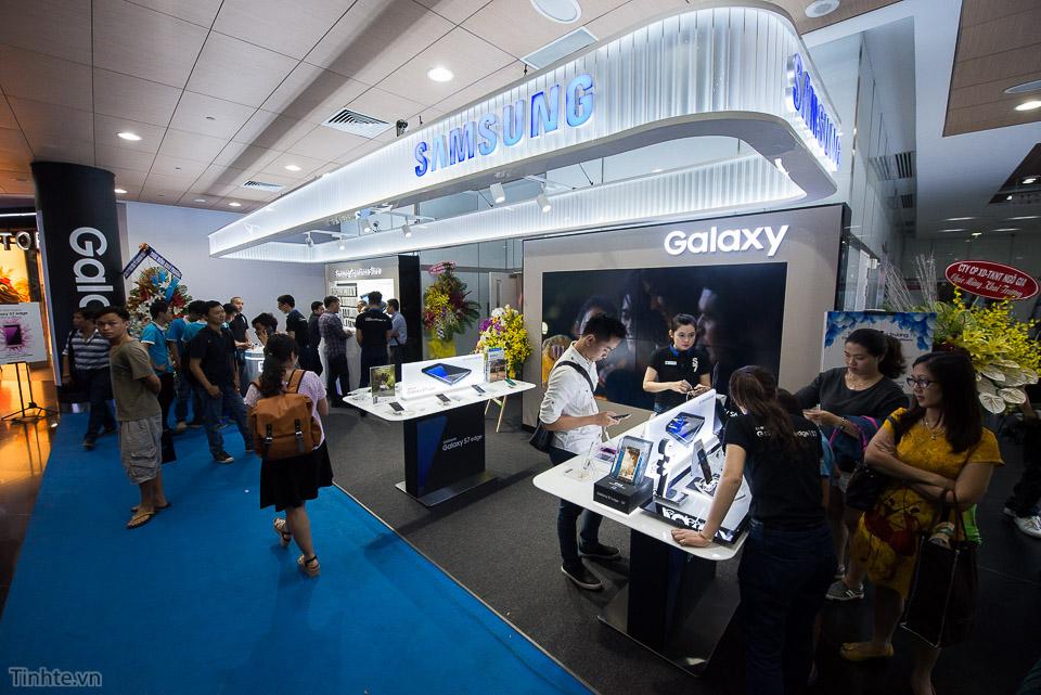 Tổng đài bảo hành điện thoại Samsung hình 2