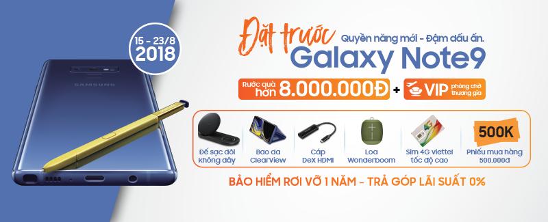 Các Ưu đãi đặc quyền dành riêng cho chủ nhân Galaxy Note 9 hình 1