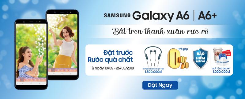 Gói quà tặng Galaxy (Galaxy Gift) ưu đãi đặc quyền dành riêng cho người dùng Galaxy A6 và Galaxy A6+ hình 1