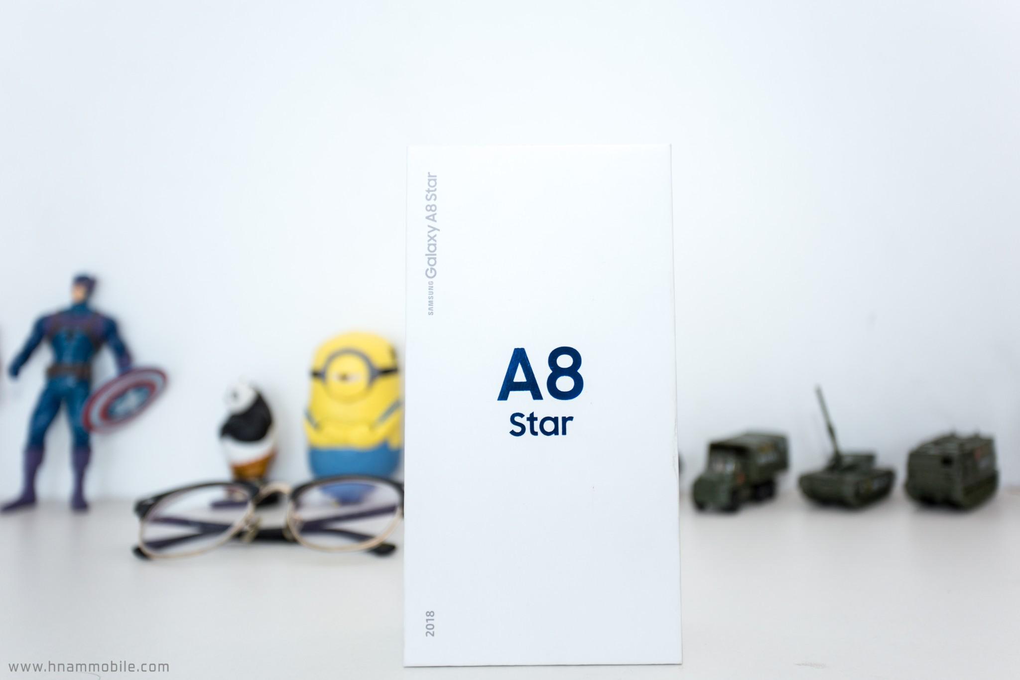 Đập hộp Galaxy A8 Star chính hãng tại Việt Nam hình 2