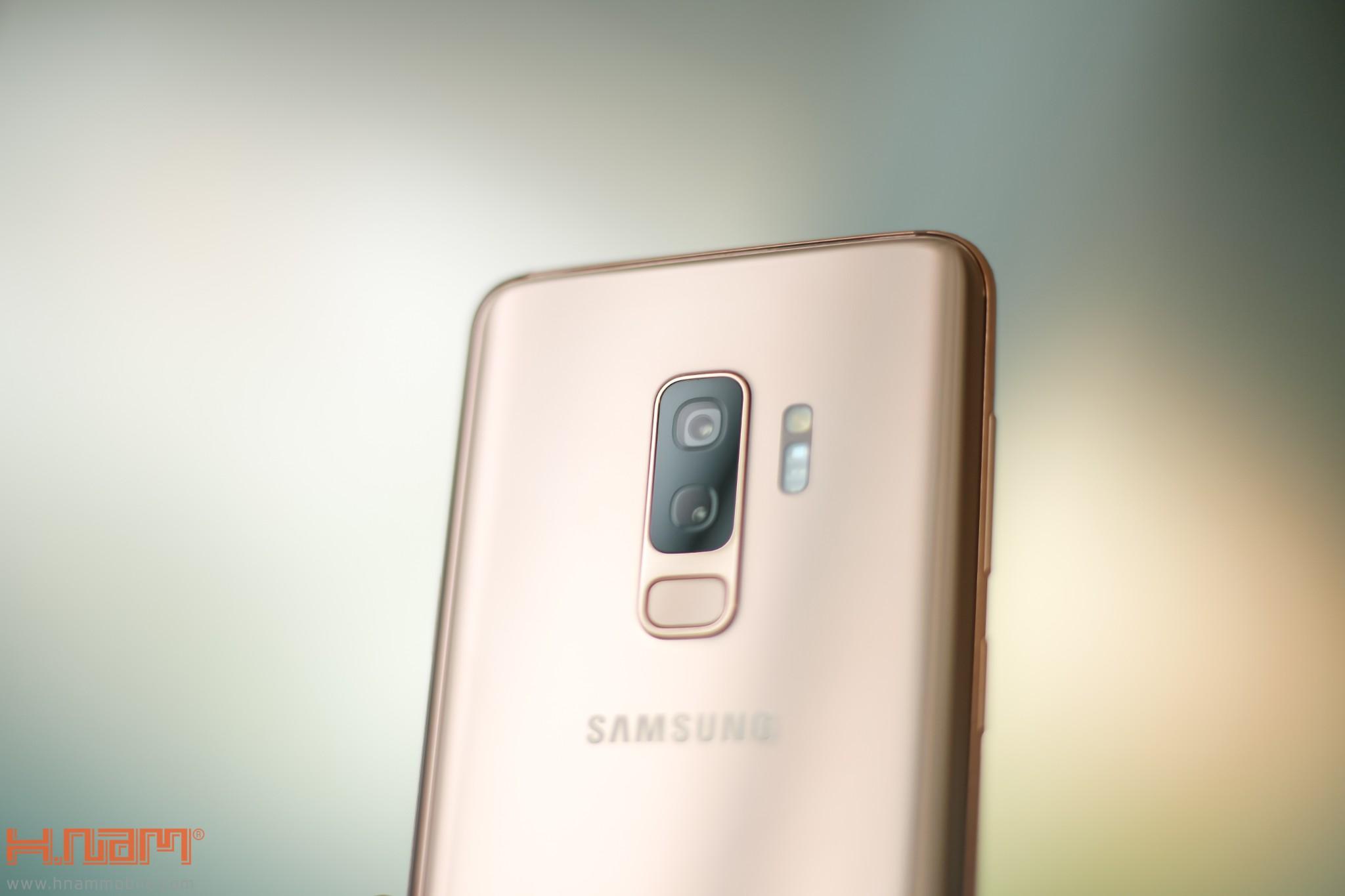 Trên tay Galaxy S9+ phiên bản Hoàng Kim chính hãng Việt Nam hình 5