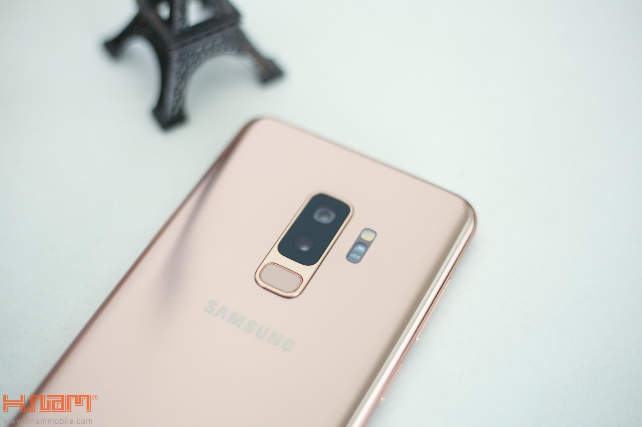 Trên tay Galaxy S9+ phiên bản Hoàng Kim chính hãng Việt Nam hình 4