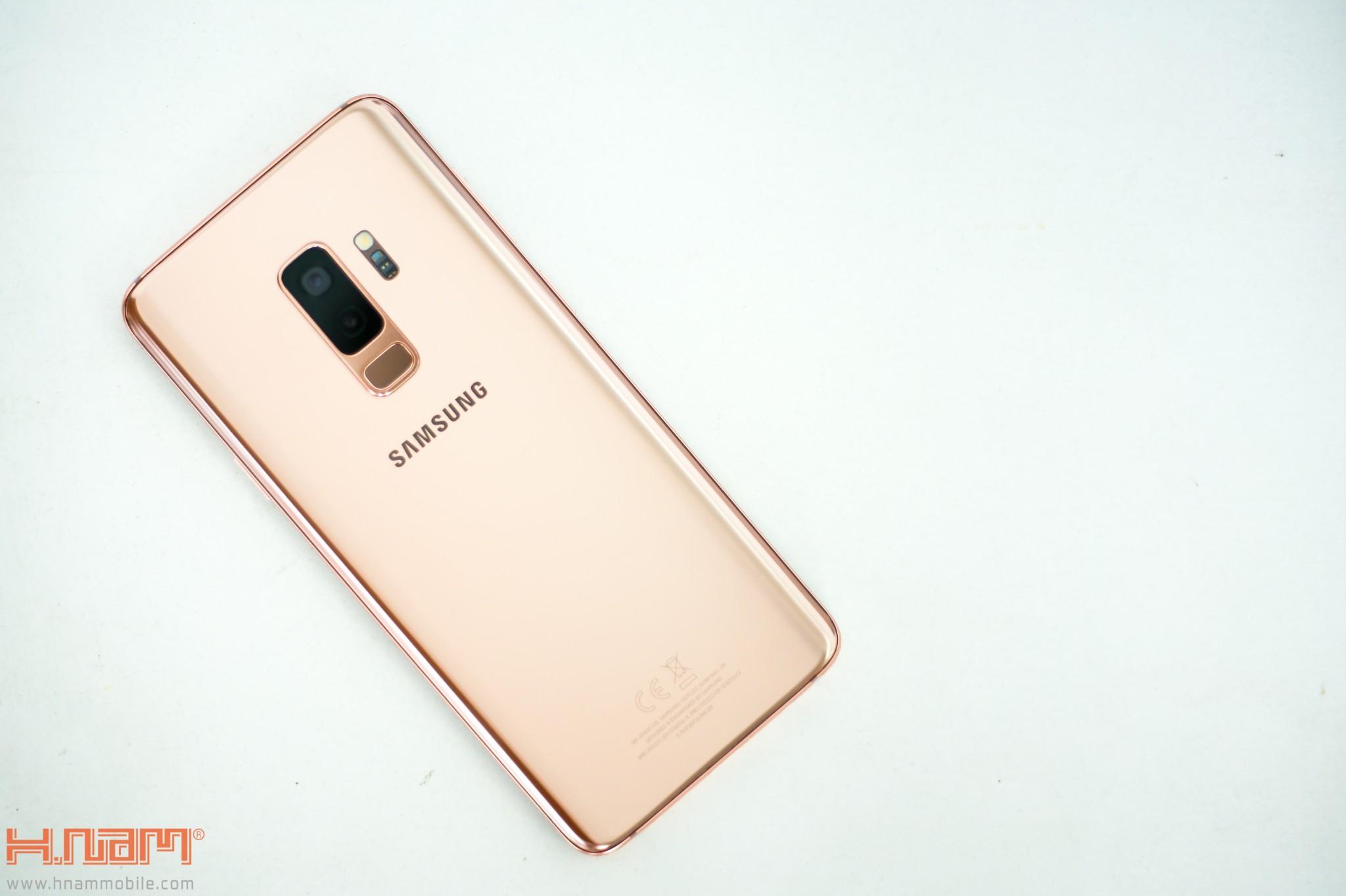 Trên tay Galaxy S9+ phiên bản Hoàng Kim chính hãng Việt Nam hình 6