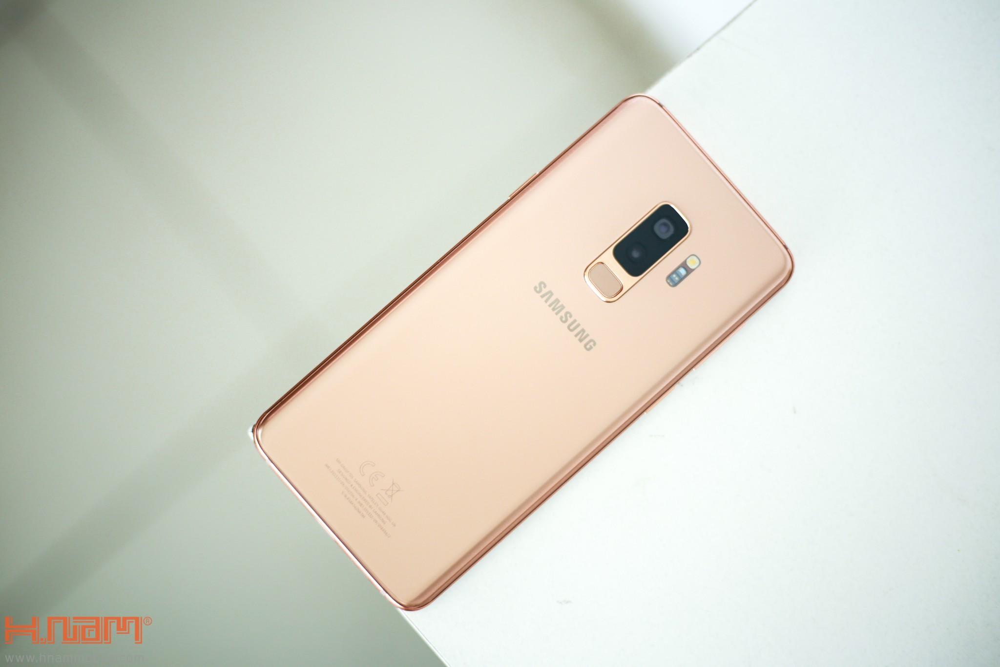 Trên tay Galaxy S9+ phiên bản Hoàng Kim chính hãng Việt Nam hình 1