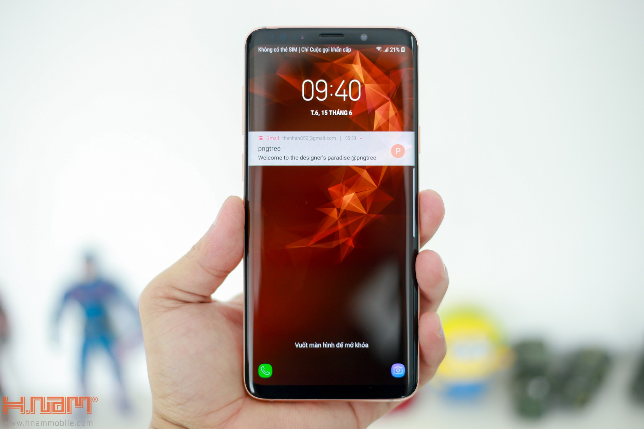 Trên tay Galaxy S9+ phiên bản Hoàng Kim chính hãng Việt Nam hình 7