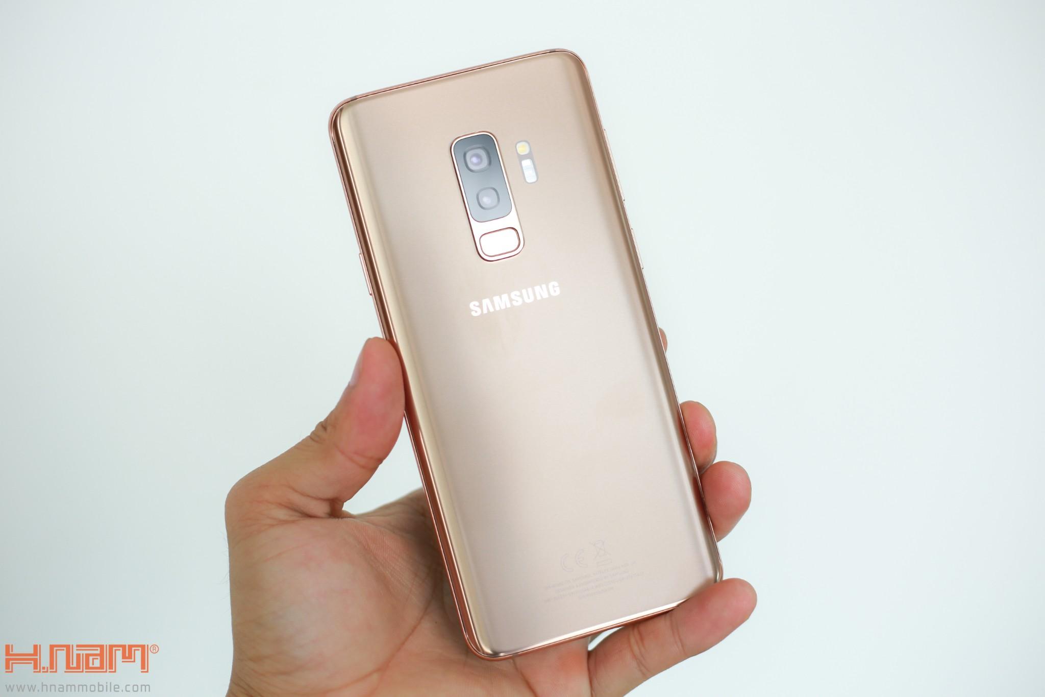 Trên tay Galaxy S9+ phiên bản Hoàng Kim chính hãng Việt Nam hình 3