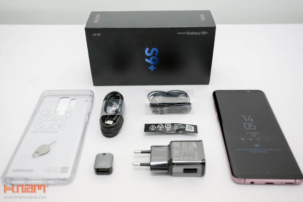 Đập hộp Galaxy S9+ chính hãng tại Việt Nam màu Tím tử đinh hương hình 5