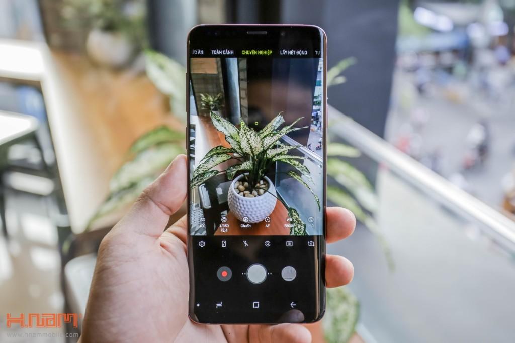 Đập hộp Galaxy S9+ chính hãng tại Việt Nam màu Tím tử đinh hương hình 13