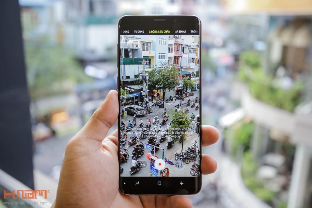Đập hộp Galaxy S9+ chính hãng tại Việt Nam màu Tím tử đinh hương hình 12