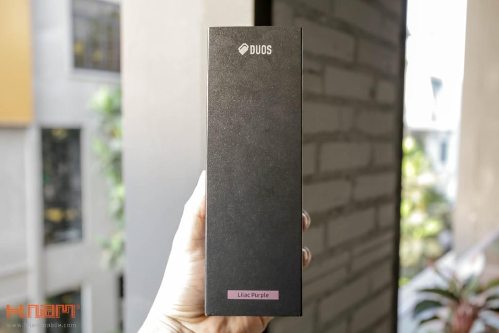 Đập hộp Galaxy S9+ chính hãng tại Việt Nam màu Tím tử đinh hương hình 3
