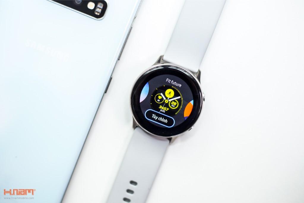 Đập hộp Galaxy Watch Active: có xứng đáng là chiếc smartwatch quốc dân? hình 8