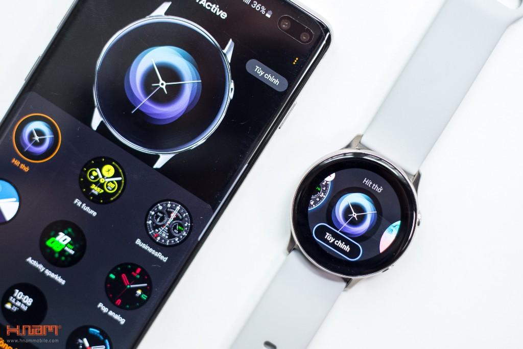 Đập hộp Galaxy Watch Active: có xứng đáng là chiếc smartwatch quốc dân? hình 16