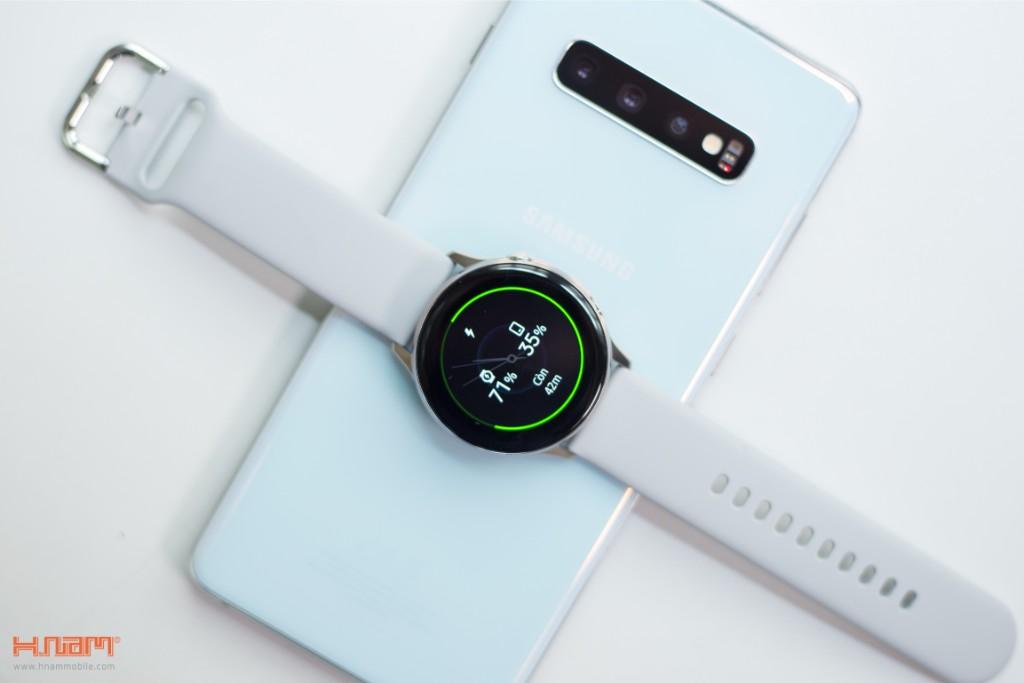 Đập hộp Galaxy Watch Active: có xứng đáng là chiếc smartwatch quốc dân? hình 12