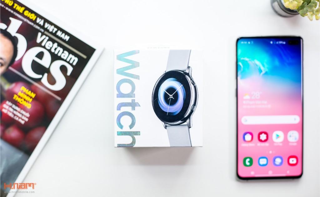 Đập hộp Galaxy Watch Active: có xứng đáng là chiếc smartwatch quốc dân? hình 2