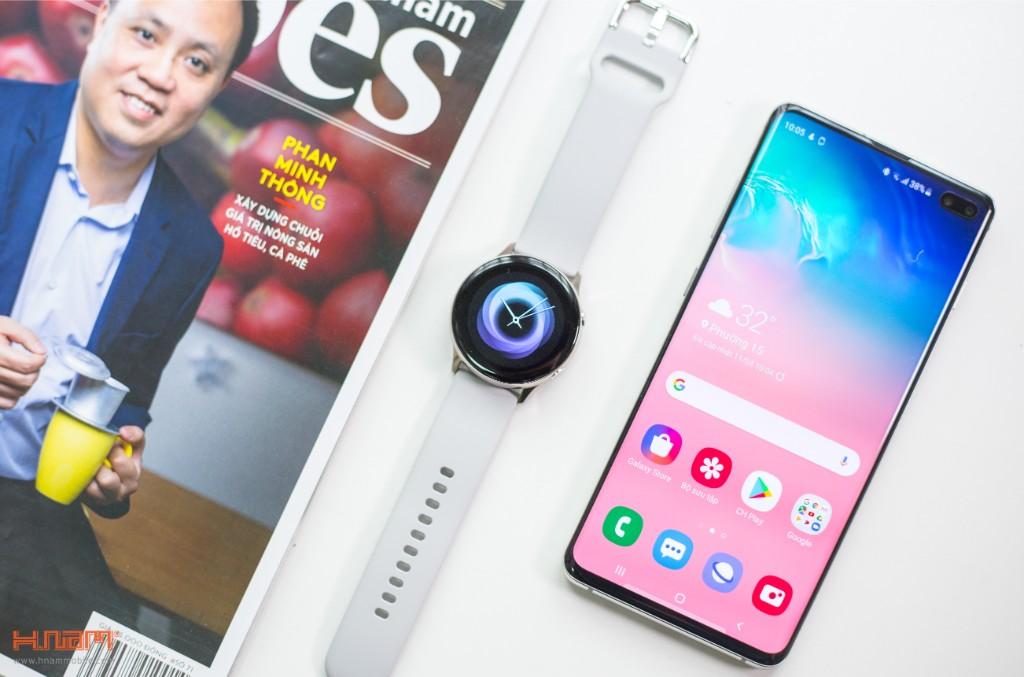 Đập hộp Galaxy Watch Active: có xứng đáng là chiếc smartwatch quốc dân? hình 4