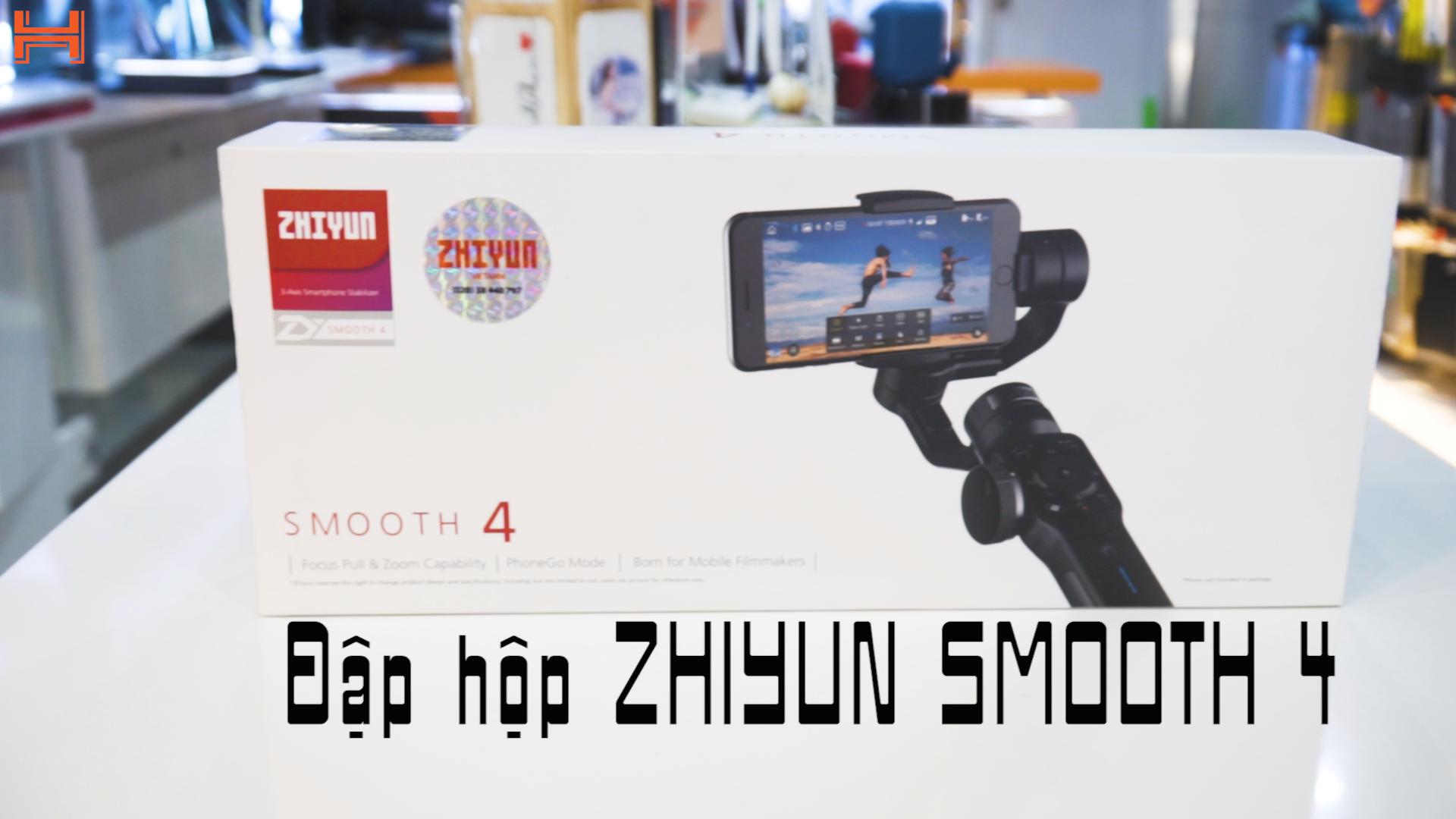 ZHIYUN Smooth 4: Gimbal cho điện thoại đáng mua nhất hiện nay hình 1