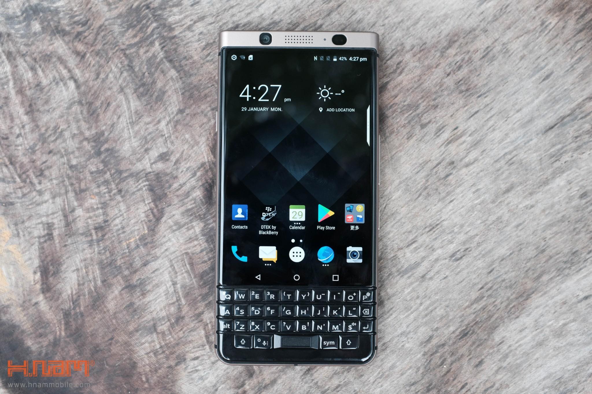 Trên tay Blackberry KEYone phiên bản màu Đồng cực chất! hình 11
