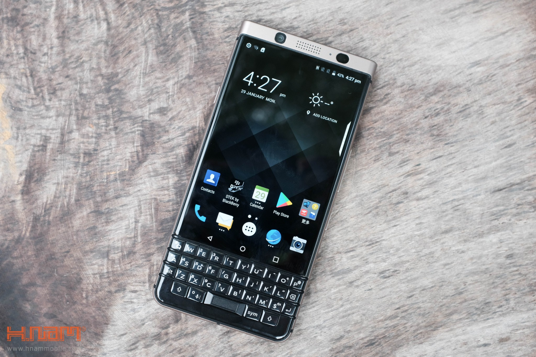 Trên tay Blackberry KEYone phiên bản màu Đồng cực chất! hình 2