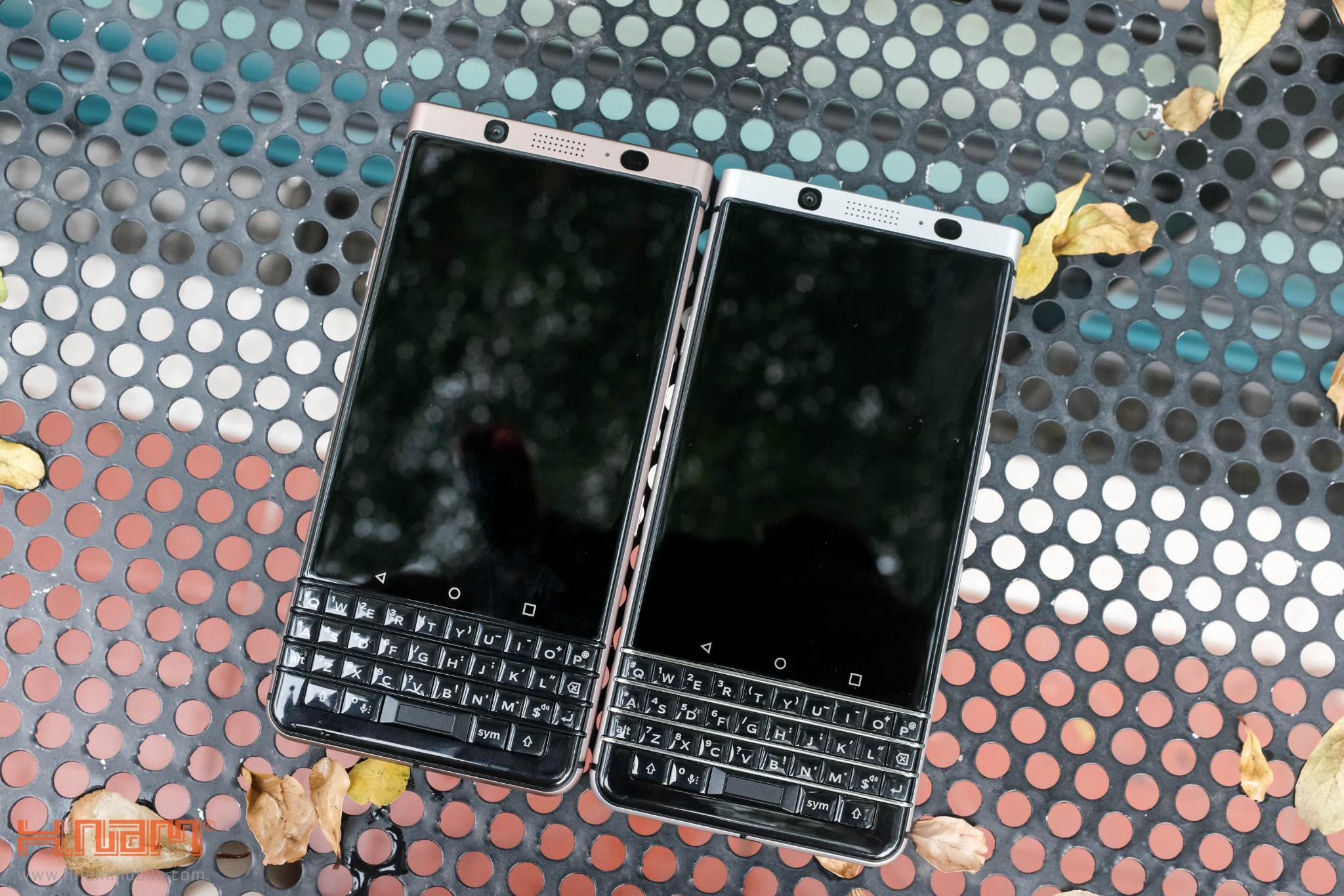 Trên tay Blackberry KEYone phiên bản màu Đồng cực chất! hình 17