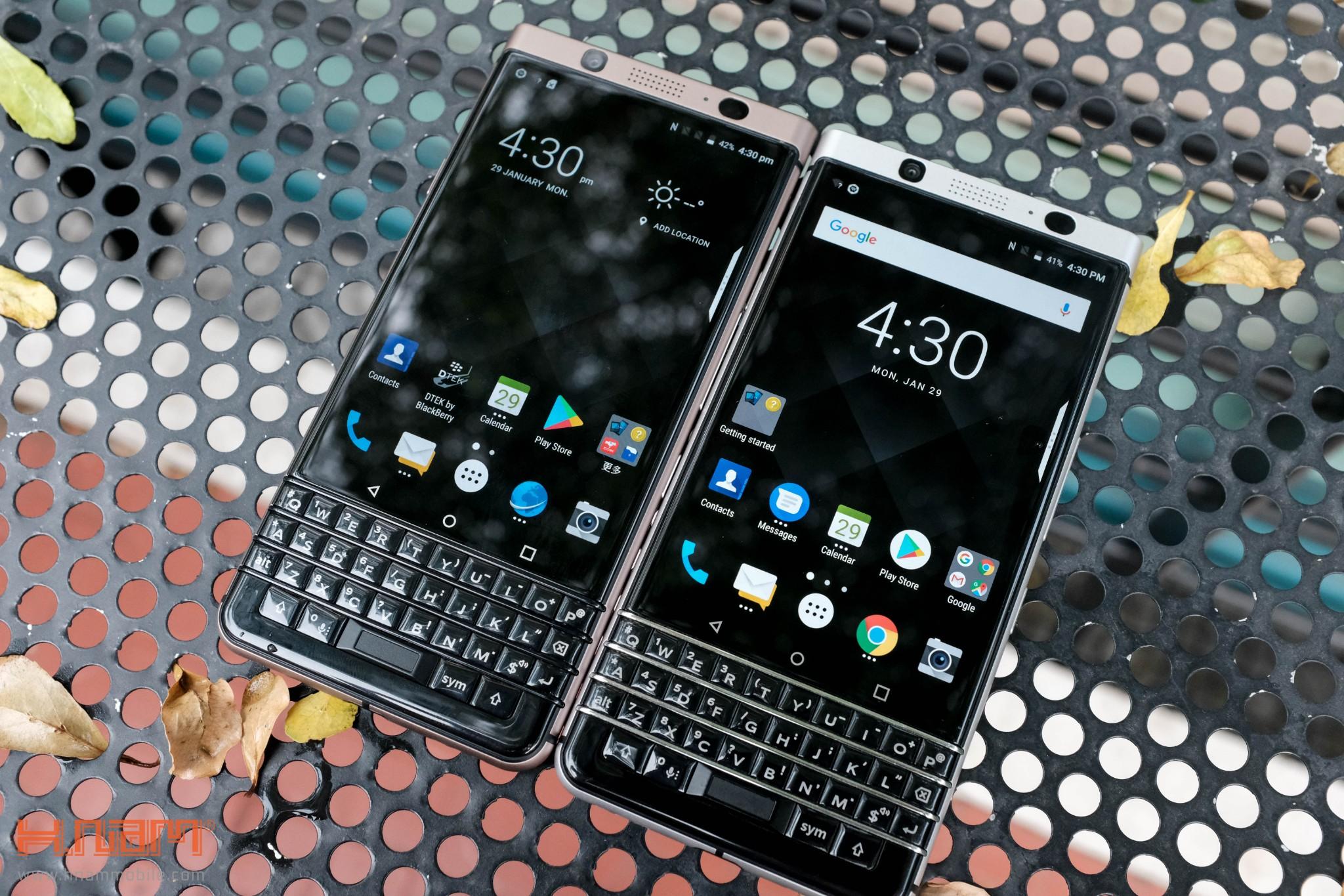 Trên tay Blackberry KEYone phiên bản màu Đồng cực chất! hình 1