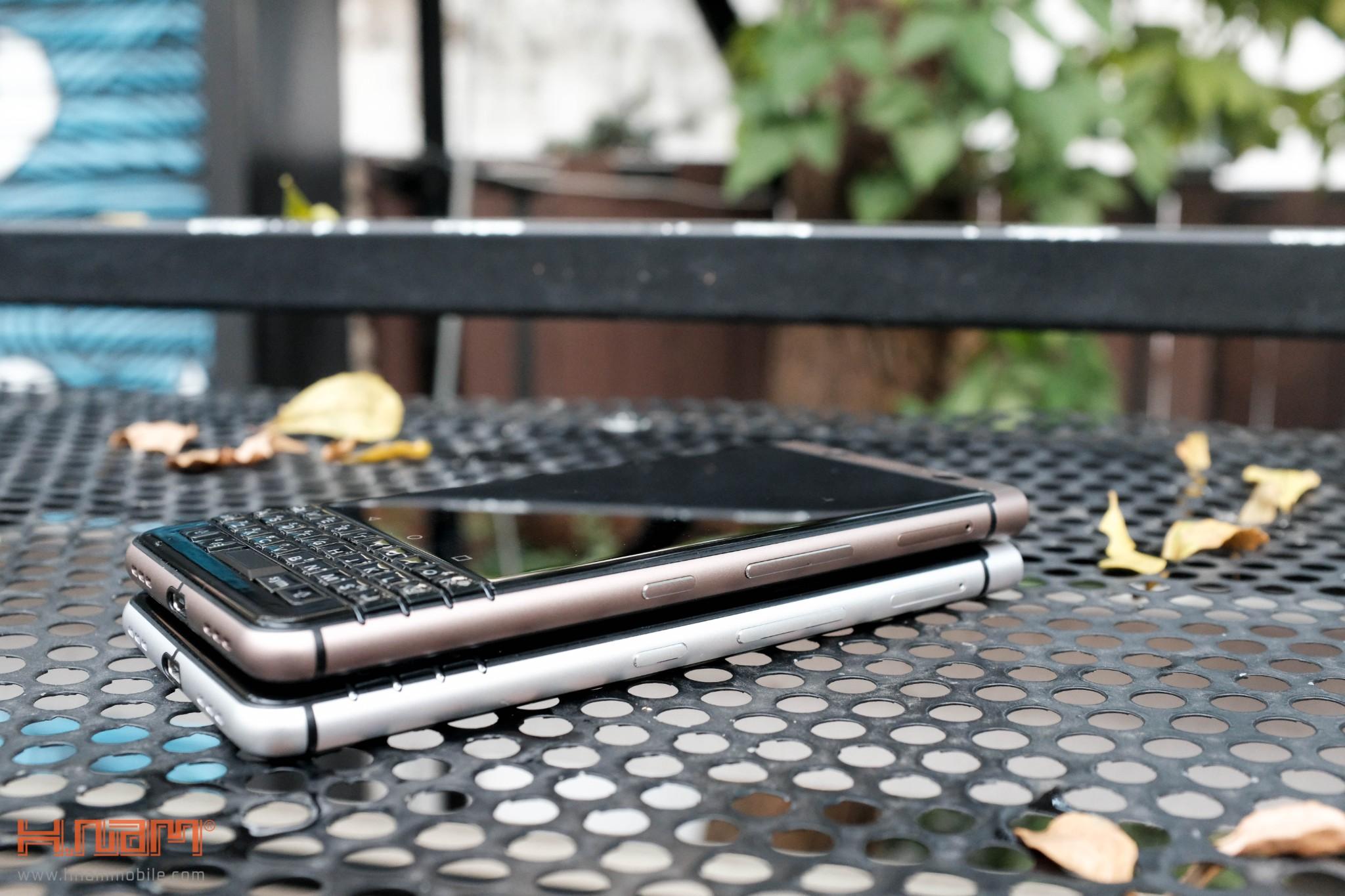 Trên tay Blackberry KEYone phiên bản màu Đồng cực chất! hình 21