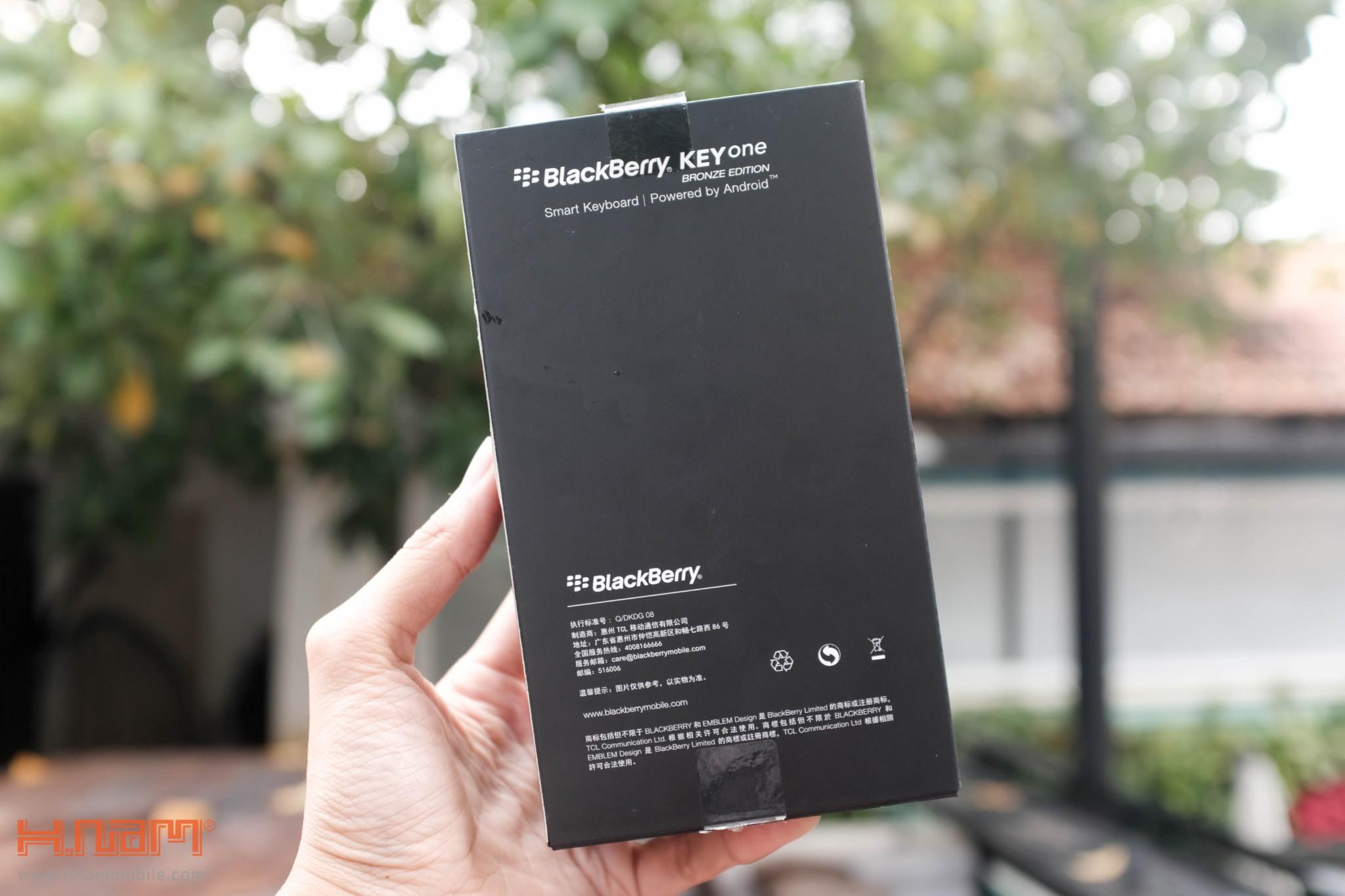 Trên tay Blackberry KEYone phiên bản màu Đồng cực chất! hình 6