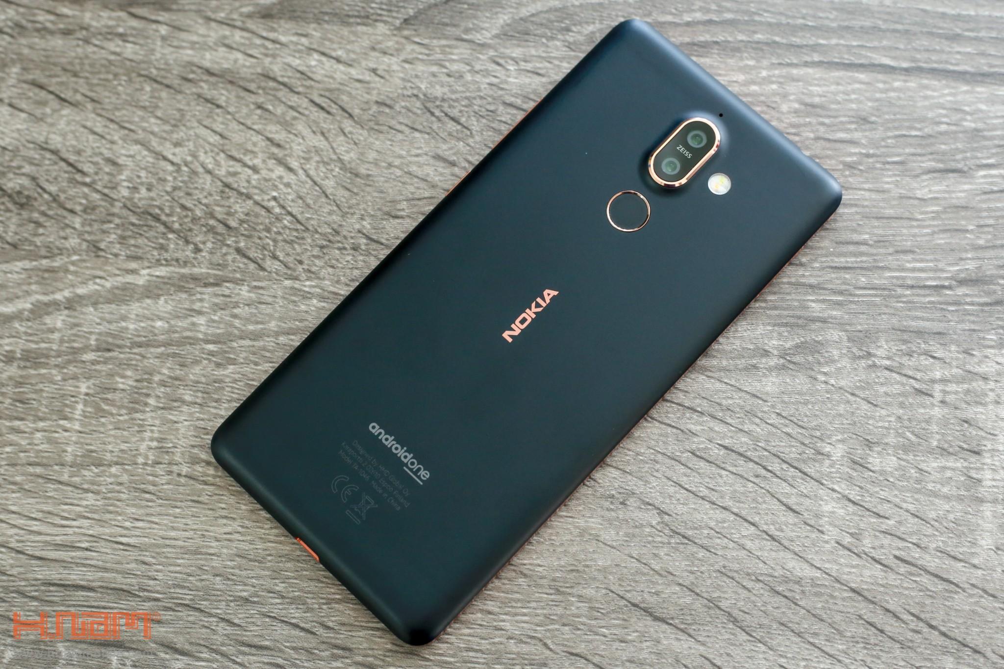 Trên tay Nokia 7 Plus: Smartphone Nokia đầu tiên có màn hình 18:9 hình 5