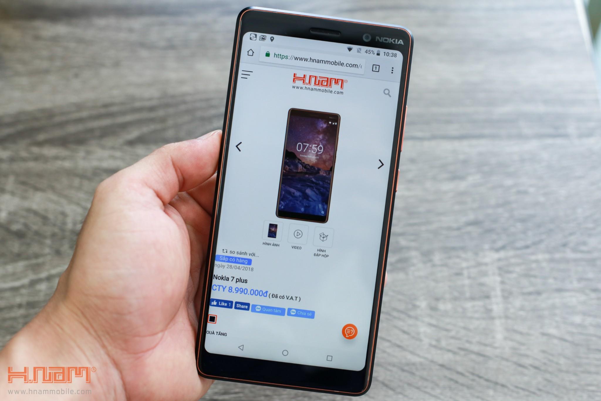 Trên tay Nokia 7 Plus: Smartphone Nokia đầu tiên có màn hình 18:9 hình 2