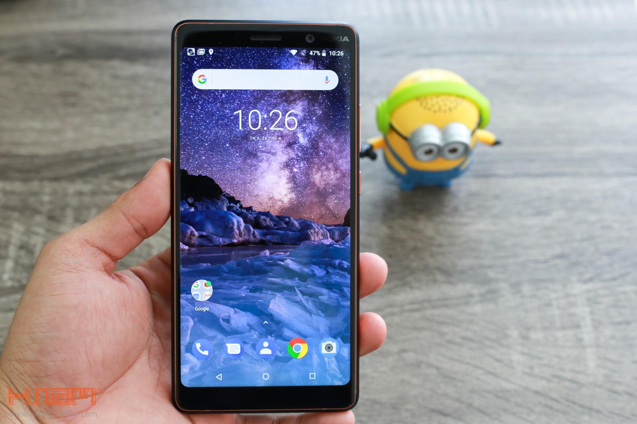 Trên tay Nokia 7 Plus: Smartphone Nokia đầu tiên có màn hình 18:9 hình 11