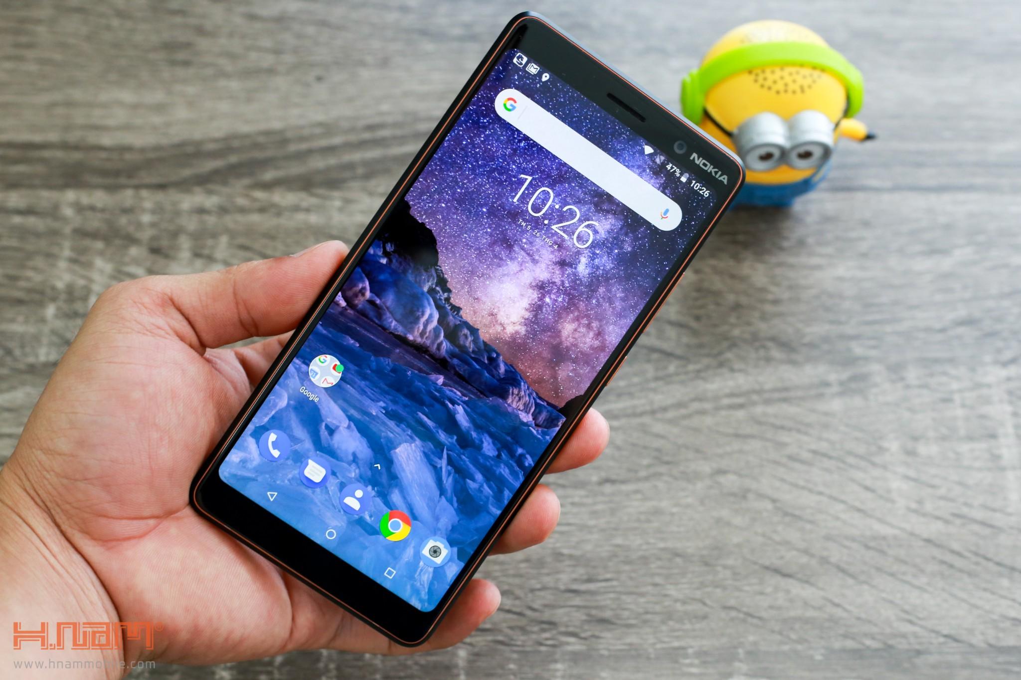 Trên tay Nokia 7 Plus: Smartphone Nokia đầu tiên có màn hình 18:9 hình 3