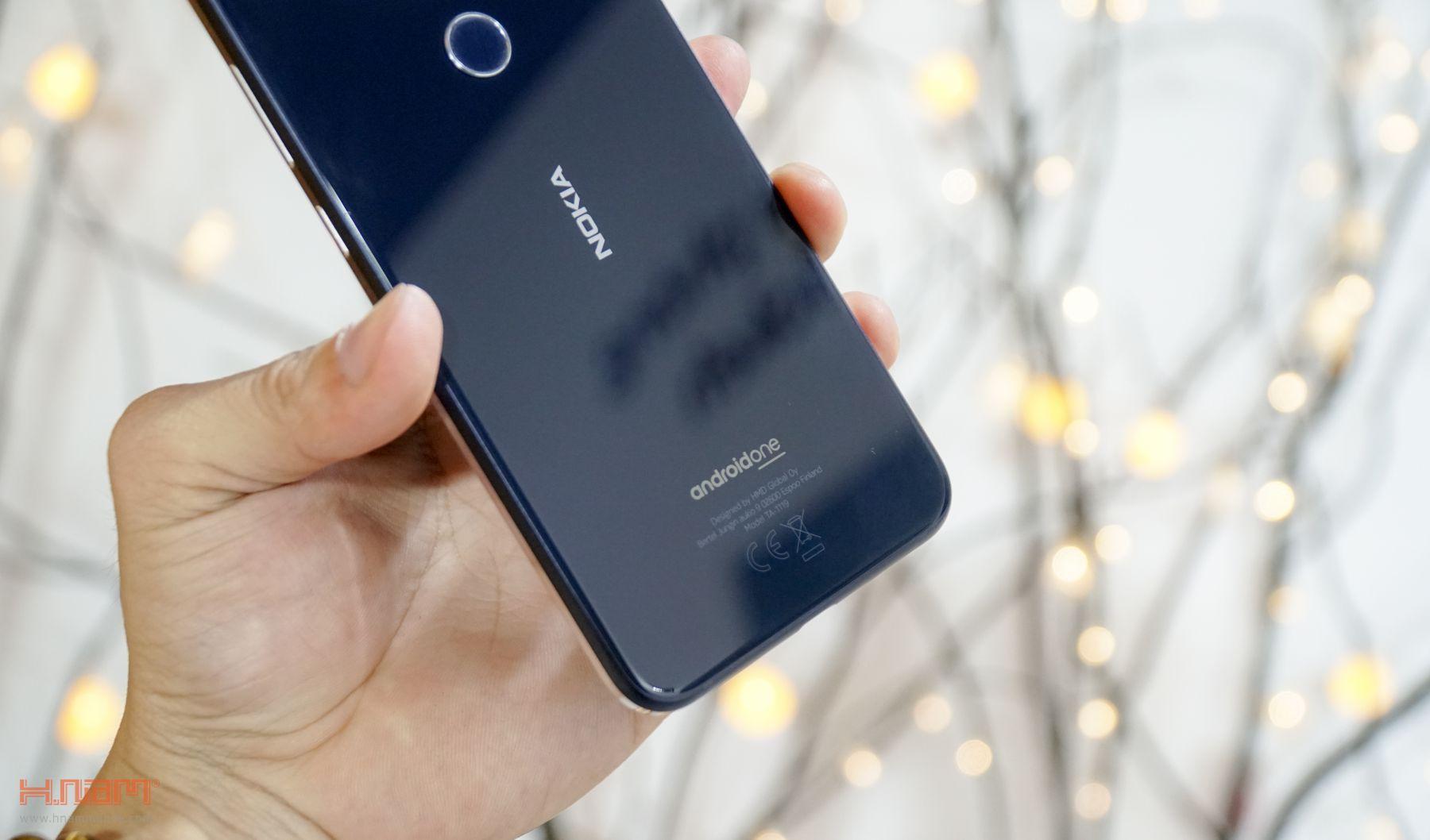 Trên tay Nokia 8.1: thiết kế chắc chắn, Snapdragon 710, Android 9.0 hình 5