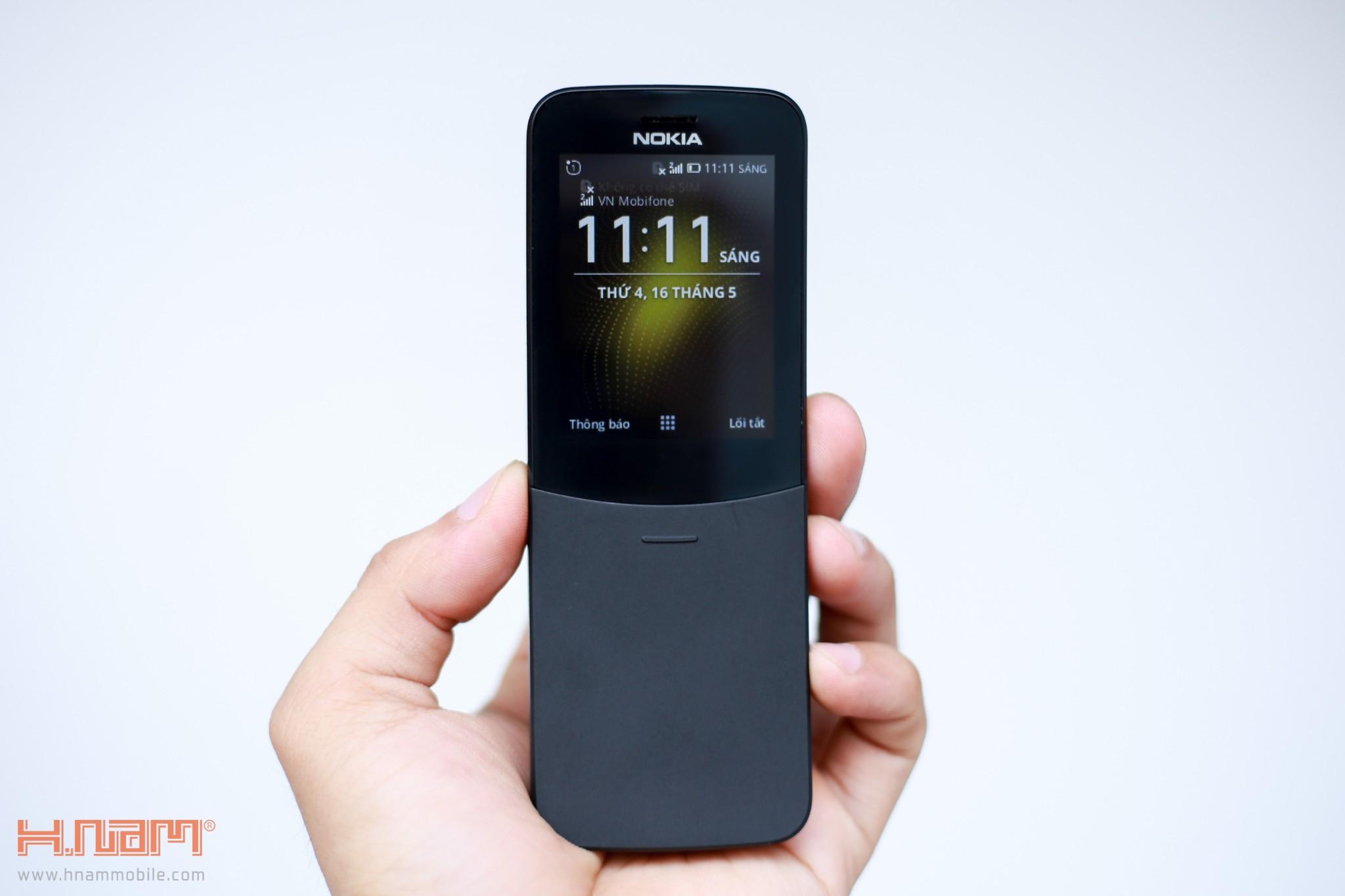 Trên tay Nokia 8110 chuối: Thiết kế siêu cute, phát 4G, giá 1.7 triệu đồng hình 11