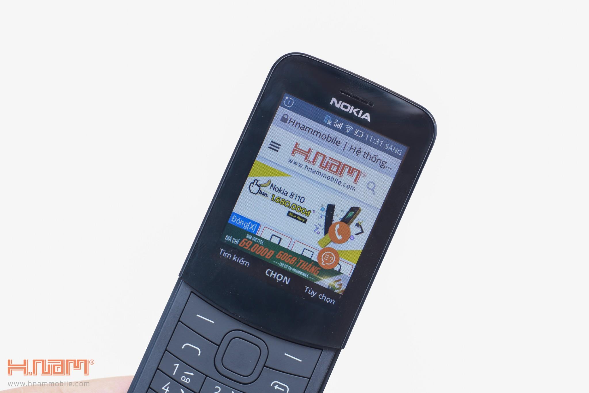 Trên tay Nokia 8110 chuối: Thiết kế siêu cute, phát 4G, giá 1.7 triệu đồng hình 7