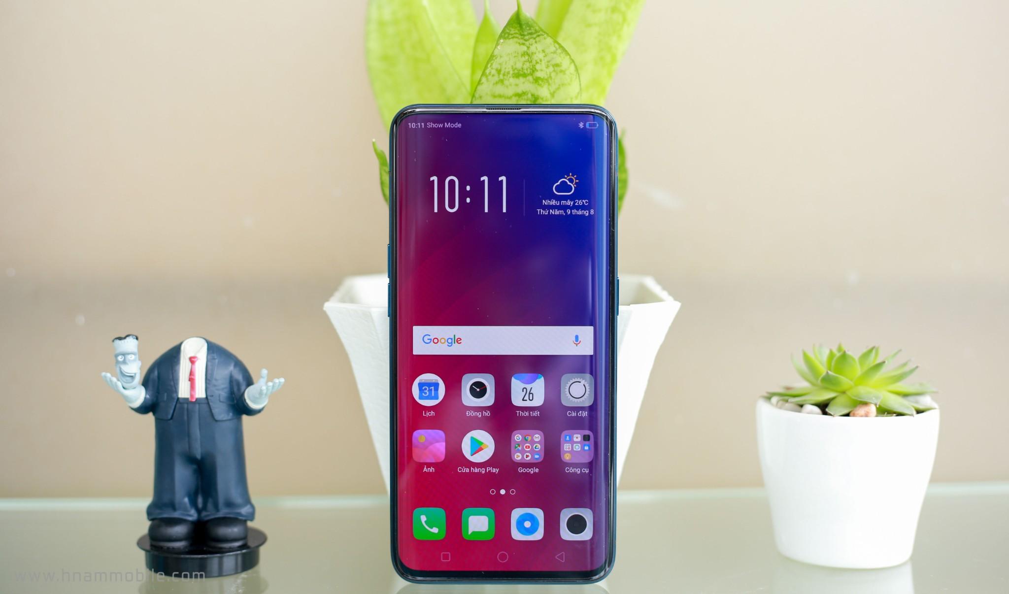 Trên tay OPPO Find X: Chiếc điện thoại đến từ tương lai? hình 9