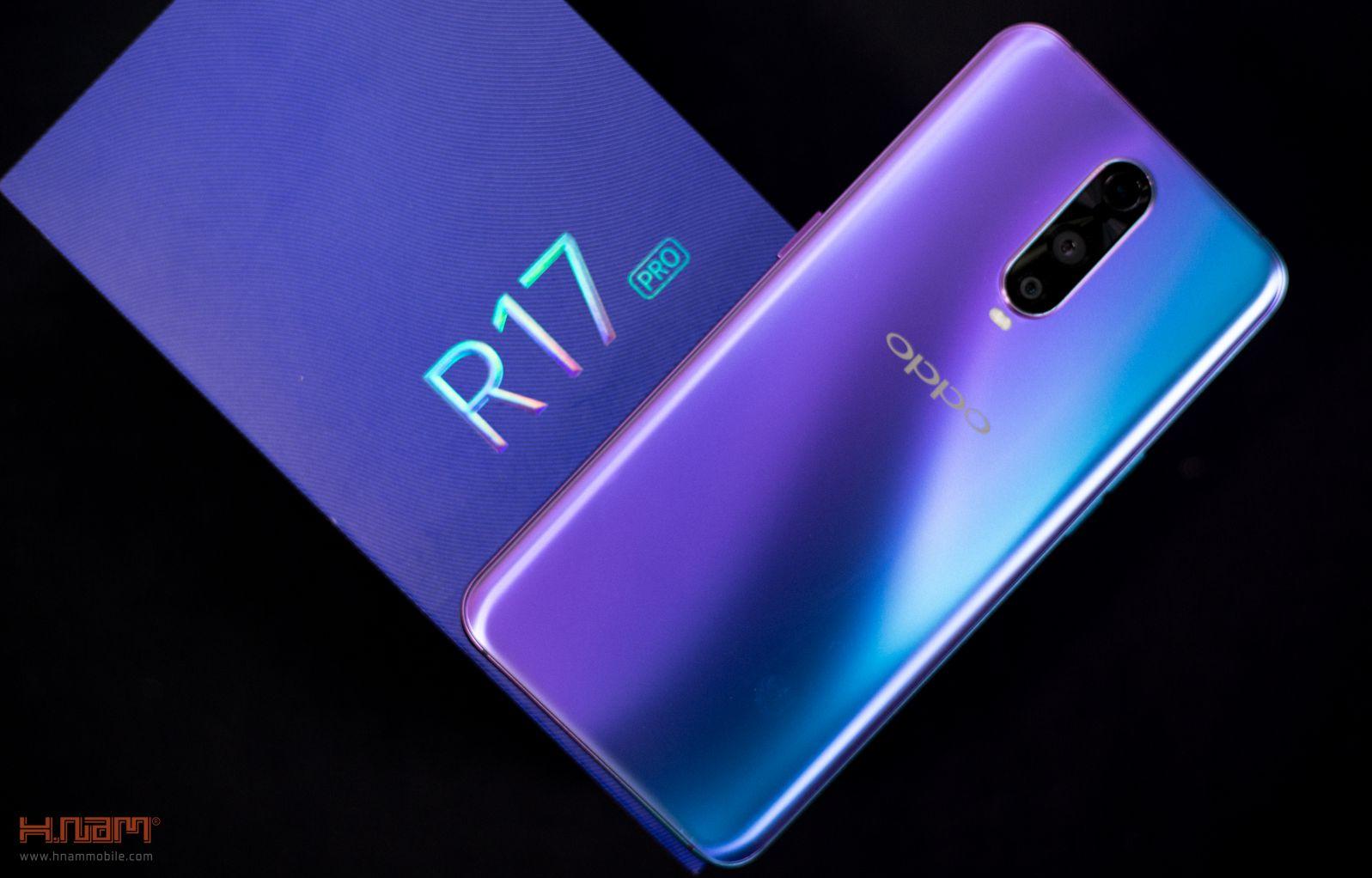 Trên tay Oppo R17 Pro: mặt lưng siêu đẹp, sạc siêu nhanh hình 2