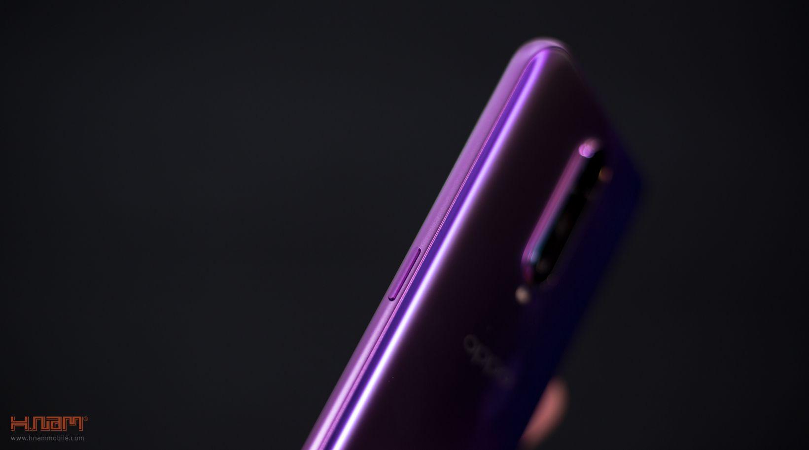 Trên tay Oppo R17 Pro: mặt lưng siêu đẹp, sạc siêu nhanh hình 7