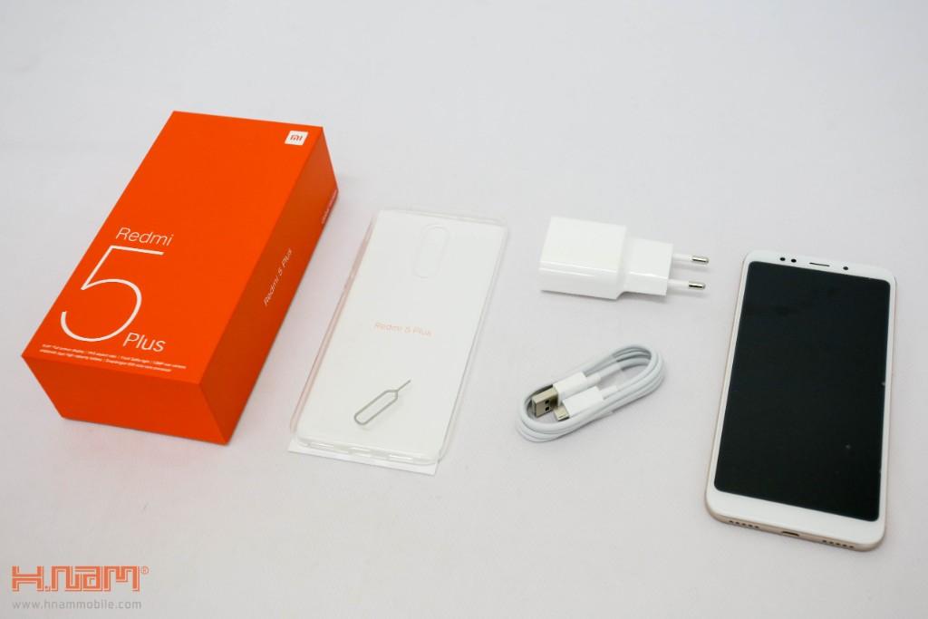 Đập hộp Xiaomi Redmi 5 Plus: Thiết kế thời thượng với màn hình 18:9 giá chỉ 3.9 triệu đồng hình 5