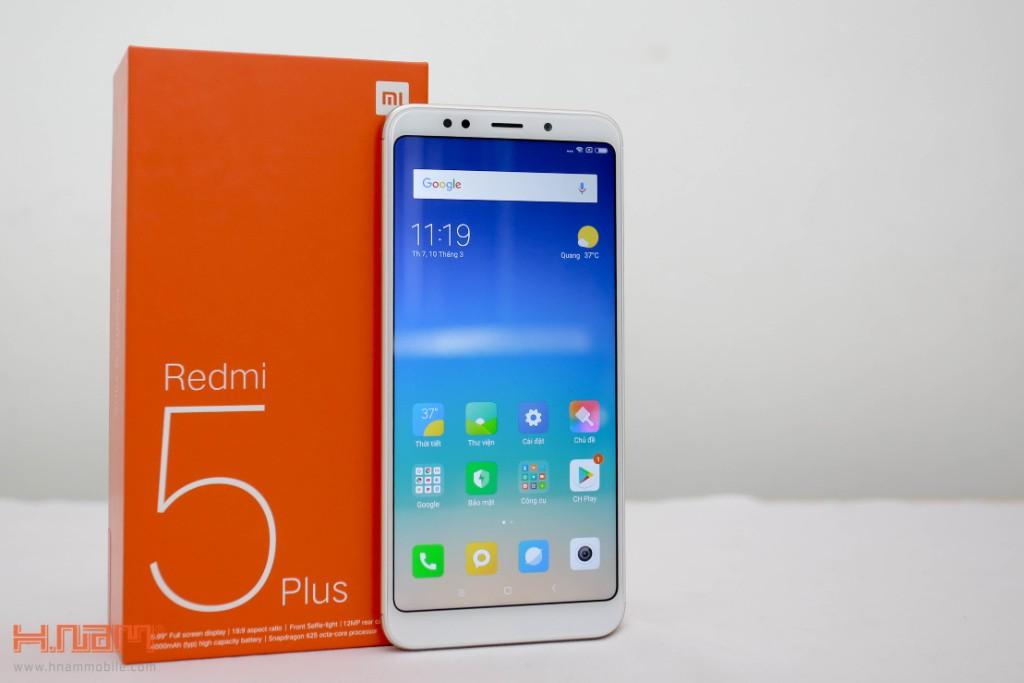 Đập hộp Xiaomi Redmi 5 Plus: Thiết kế thời thượng với màn hình 18:9 giá chỉ 3.9 triệu đồng hình 1