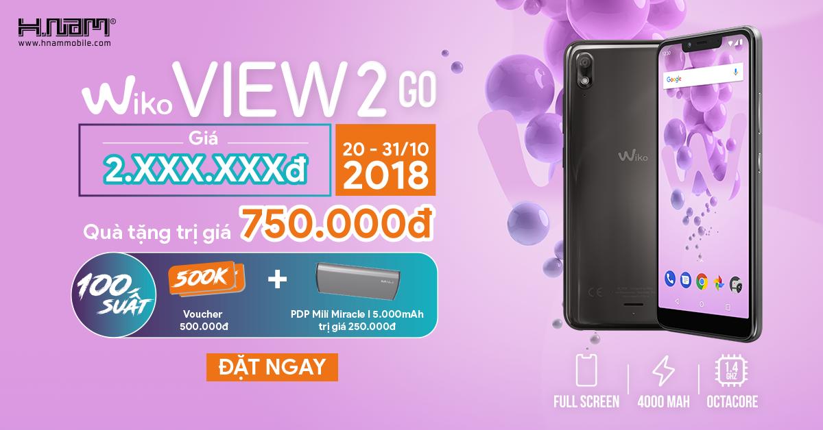 Trên tay Wiko View2 Go: smartphone tai thỏ rẻ nhất hiện nay hình 12