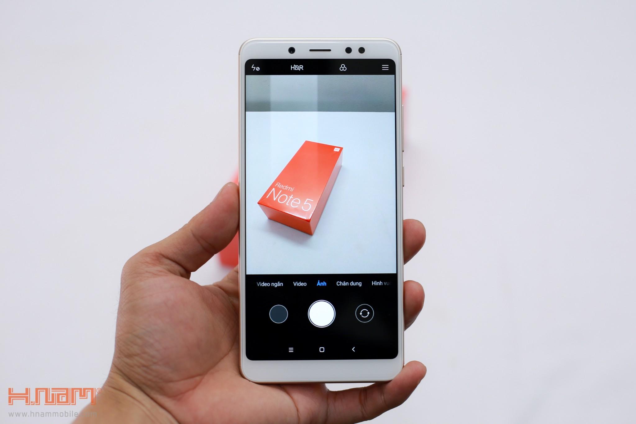 Trên tay Xiaomi Redmi Note 5: Sát thủ trong phân khúc tầm trung!!! hình 9