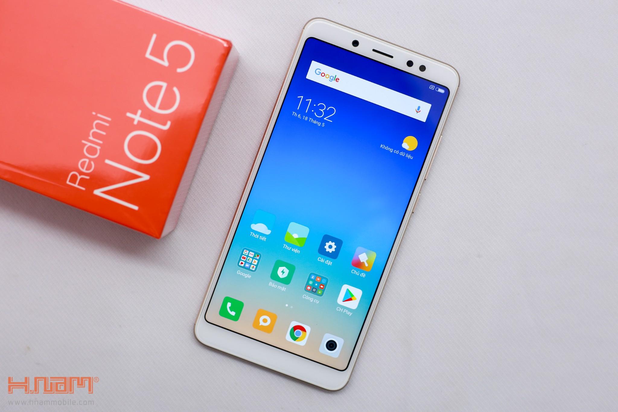 Trên tay Xiaomi Redmi Note 5: Sát thủ trong phân khúc tầm trung!!! hình 1